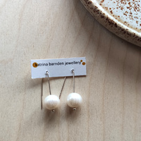 Earrings - Freshwater Pearls Sterling Silver