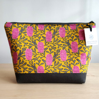 Toiletry Bag - Bright Banksia
