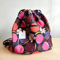 Drawstring Backpack - Protea Toss
